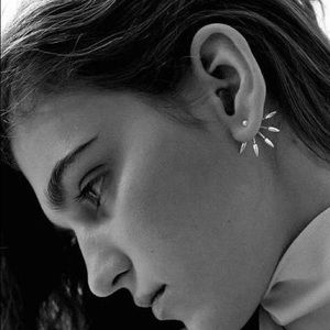 Pamela Love Spiked Earrings